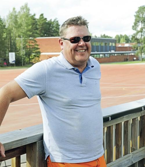 puheenjohtaja Jani Mäntylä